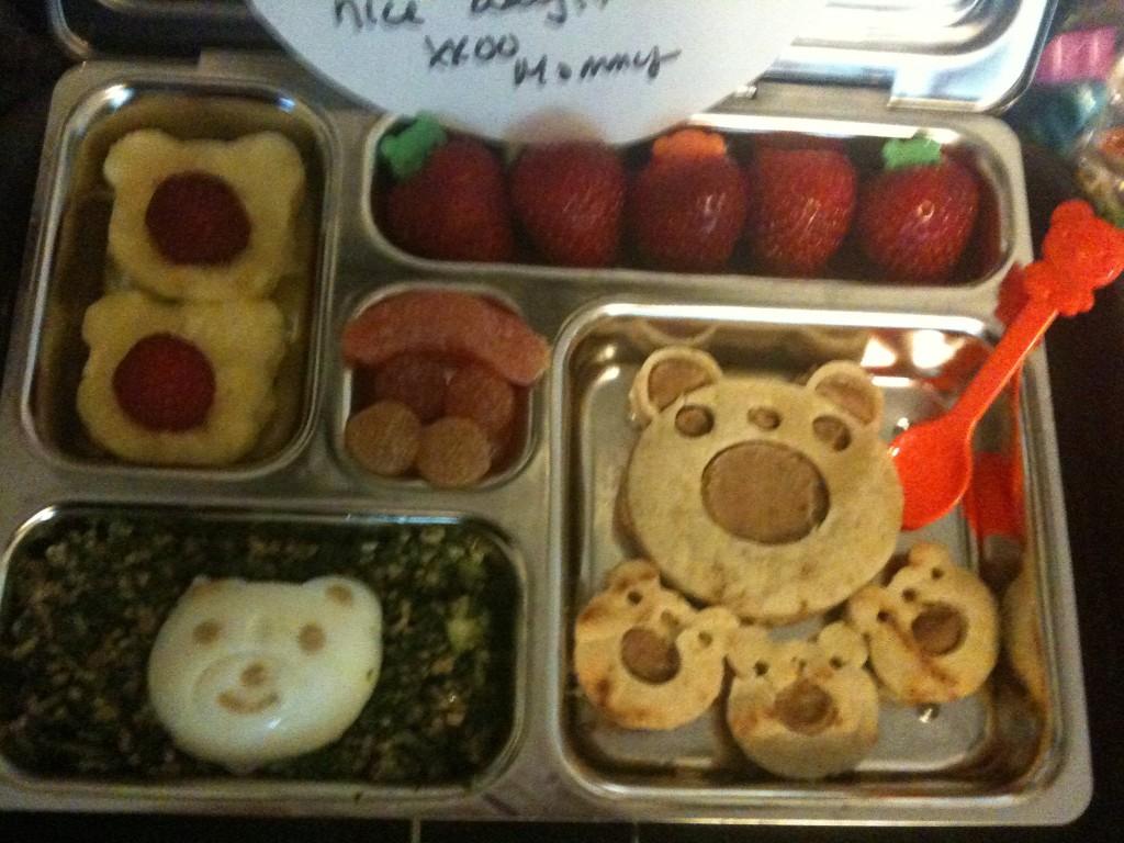 Bear-y Cute Papusa Lunch