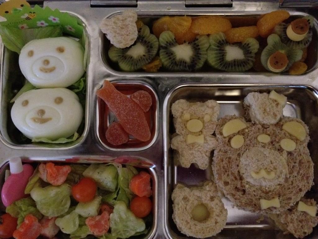 Bear-y Cute Sandwich Lunch