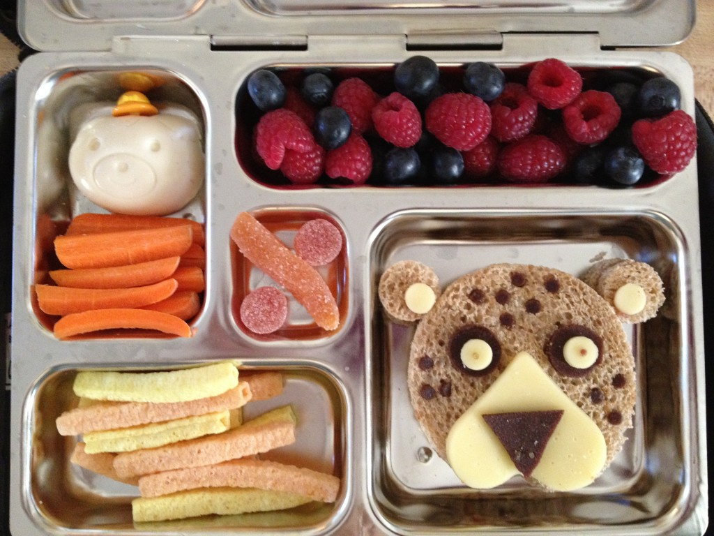 Cheetah Bento Lunch