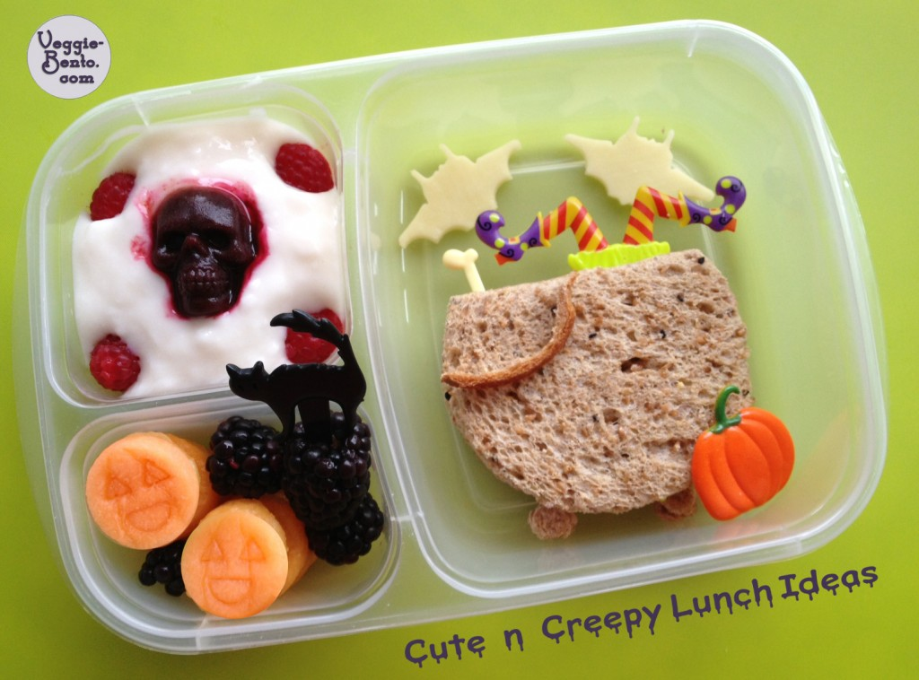 Cute and Creepy Lunch Ideas