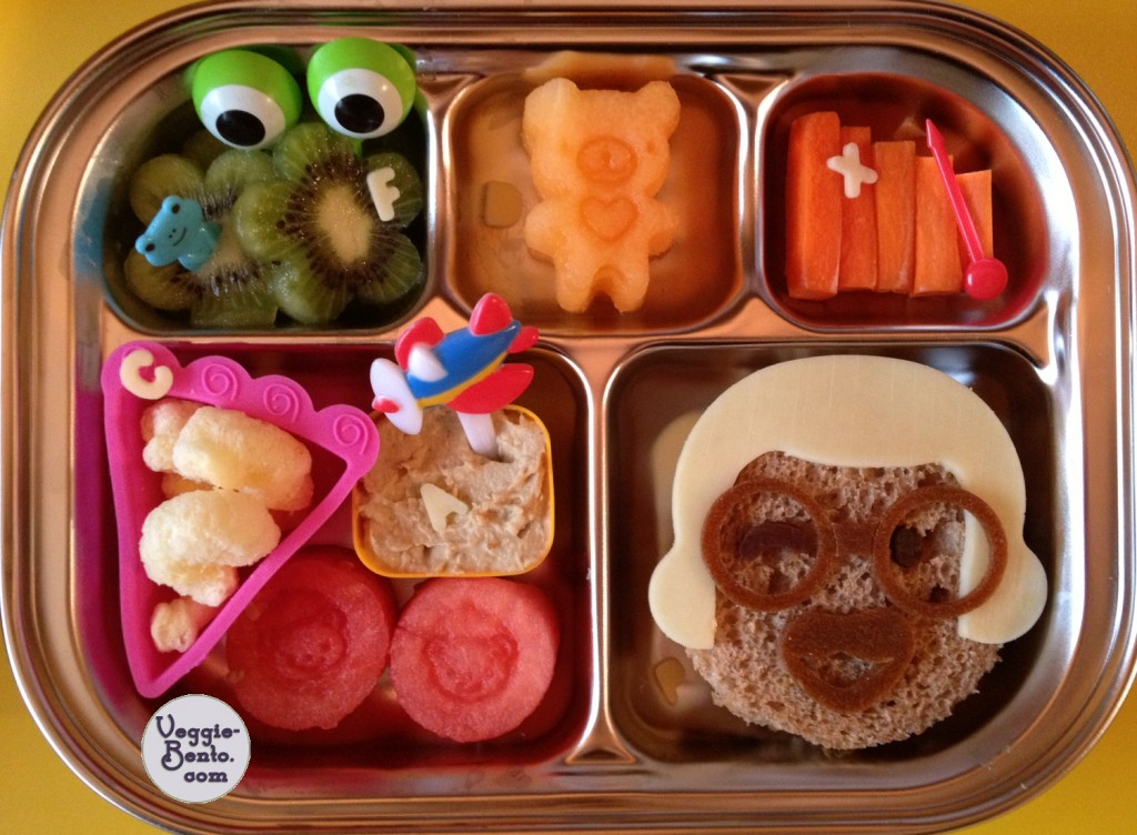 Fun lunchbox lunch
