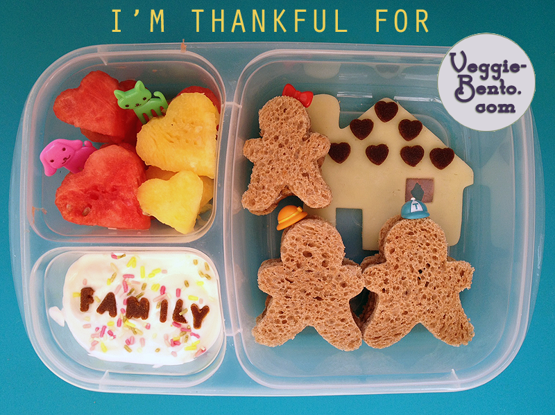 Thankful bento