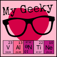 My Geeky Valentine blog hop